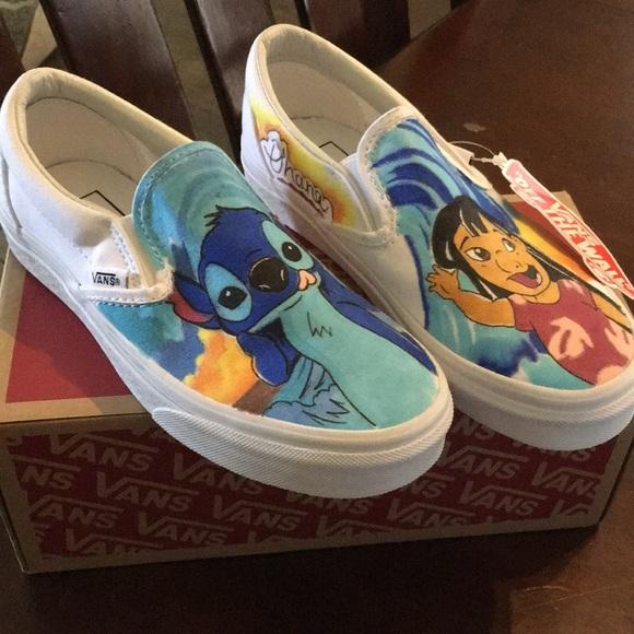 Vans Shoes | Lilo Stitch Vans | Poshmark